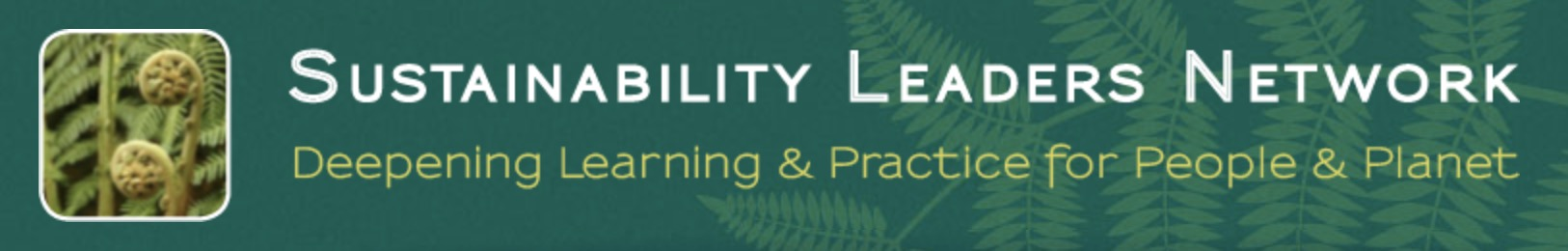 Sustainability Leaders Network Logo